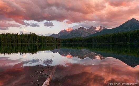 Обои Национальный парк Банф, Канада / Banff, Canada, фотограф Paul Bruins