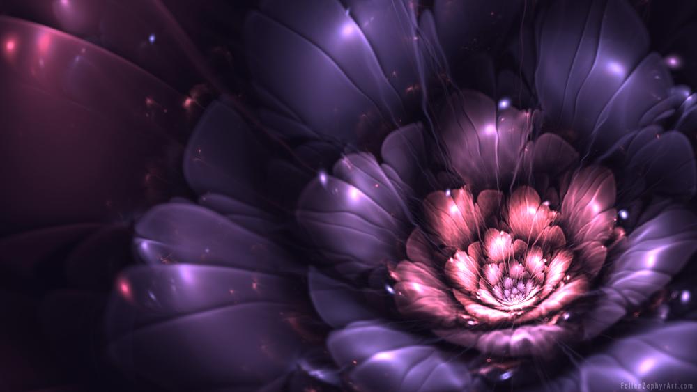Сиренево розовые цветы 5