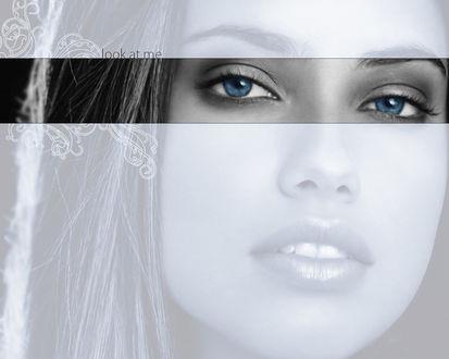 Обои Модель Адриана Лима / Adriana Lima (Посмотри на меня / look at me)