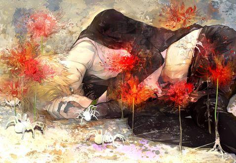 Обои Санджи / Sanji из аниме Ван Пис / One Piece