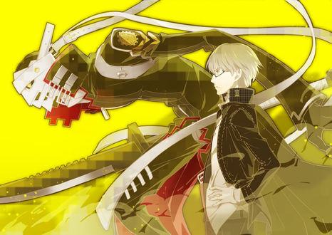Обои Shin Megami / Шин Мегами из аниме PERSONA 4 / Персона 4