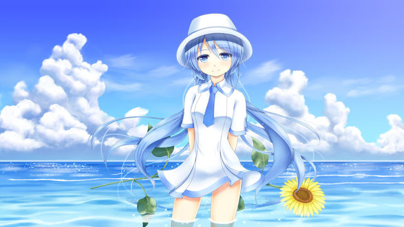 Обои Vocaloid Hatsune Miku / Вокалоид Хатсунэ Мику