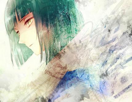 Обои Хаку / Haku из аниме Унесенные призраками / Spirited Away