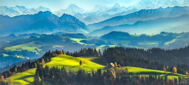 Обои Природа Швейцарии / Switzerland, фотограф Robin Halioua
