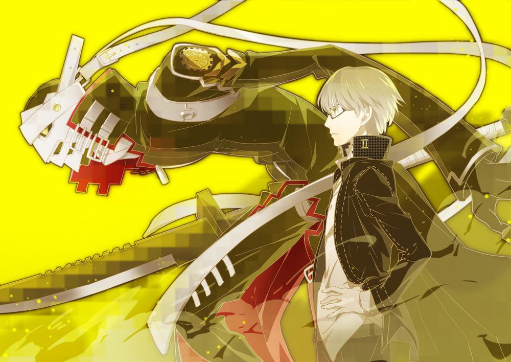 Обои для рабочего стола Shin Megami / Шин Мегами из аниме PERSONA 4 / Персона 4