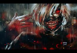 ���� Ken Kaneki / ��� ������ �� ����� Tokyo Ghoul / ��������� ����, art by NanFe  �����