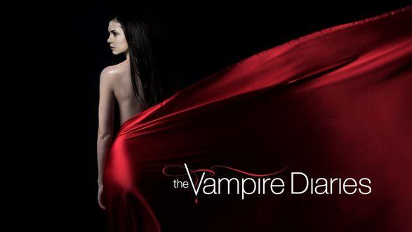 Обои Вампирша из сериала дневники вампира