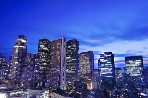 Обои Ночной город, Япония / Japan