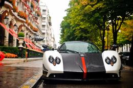 ���� ���� Pagani Zonda Cinque roadster ����� �� ����� ��� ������  �����