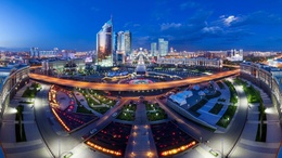 ���� �������� �� ������ ������, ��������� / Astana, Kazakhstan  1600x900, ����, ����
