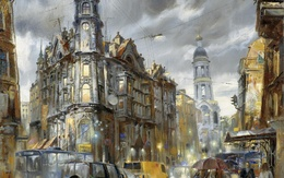 ���� ����� � �����-���������� / Saint-Petersburg, ����� ���� ���������� / Ivan Slavinsky  �����, �������