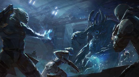 ���� �������-��� � ���� Mass Effect 3, ��������� ���� ��������� � �������