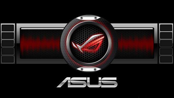Обои Логотип фирмы Asus (NASDAQ: AKCPF, TWSE:2357) — расположенной на Тайване компании, производящей персональные компьютеры, а также компьютерные компоненты, такие, как материнские платы, графические карты, а также ноутбуки, мобильные телефоны, интернет-планшеты, оптические приводы и мониторы