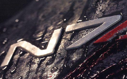 Обои Рисунок с обложки компьютерной игры Mass Effect 2