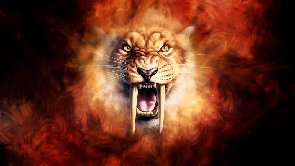 Рисунки тигр