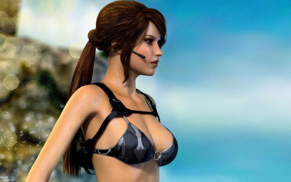 Обои для рабочего стола Lara Croft / Лара Крофт из игры Tomb Raider / Расхитительница гробниц