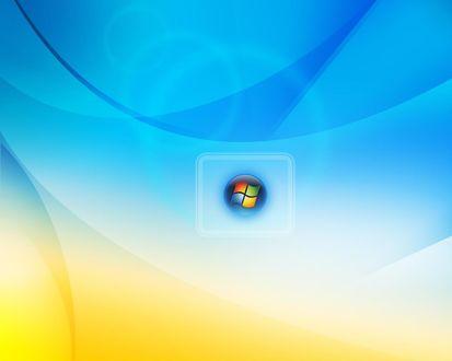 Обои Надпись Microsoft Windows