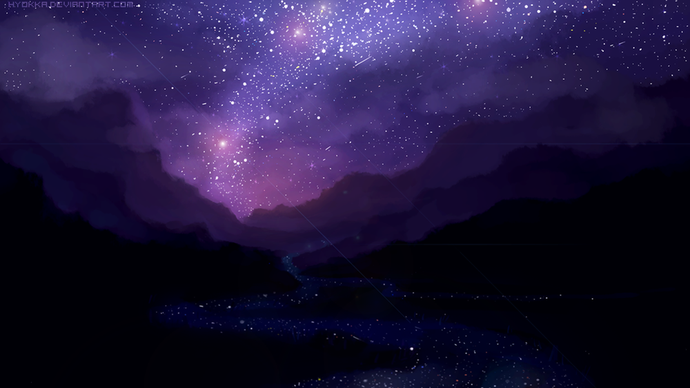 Night Sky Stars Background Psdgraphics - 1000×563