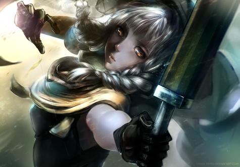 Обои Еlf / девушка-эльф персонаж игры Dragons Crown