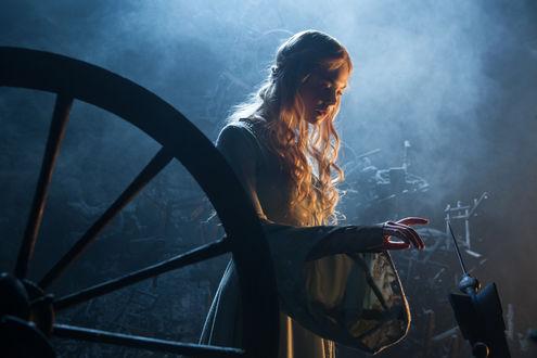 Обои Принцесса Аврора, кадр из фантастического фильма Малефисента