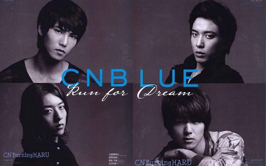 Обои Южнокорейская группа CNBlue