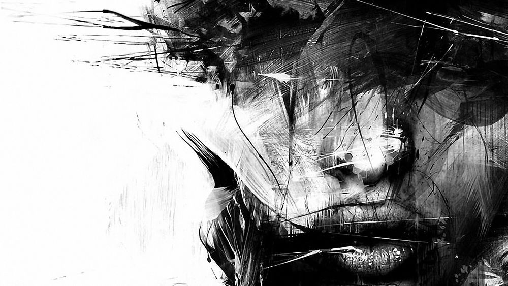 Эротика черно белые прозрачные обои фото 405-908