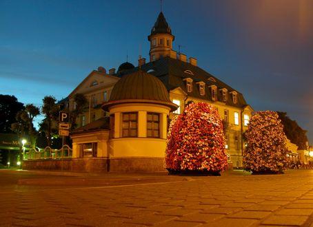 Обои Красивое здание, Латвия, Юрмала / Latvia, Jurmala