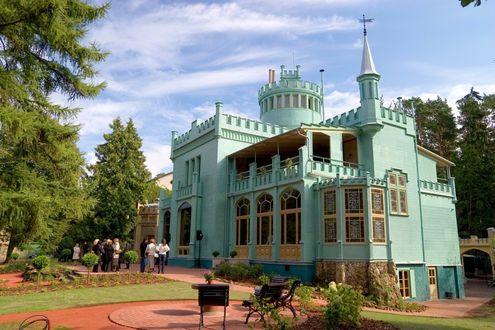 Обои Дачный комплекс и сад Кристапа Морберга, постройка 1883 года, Латвия, Юрмала / Latvia, Jurmala
