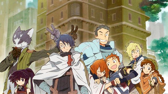 ���� ������� ��������� ����� ����� �������� / Log Horizon