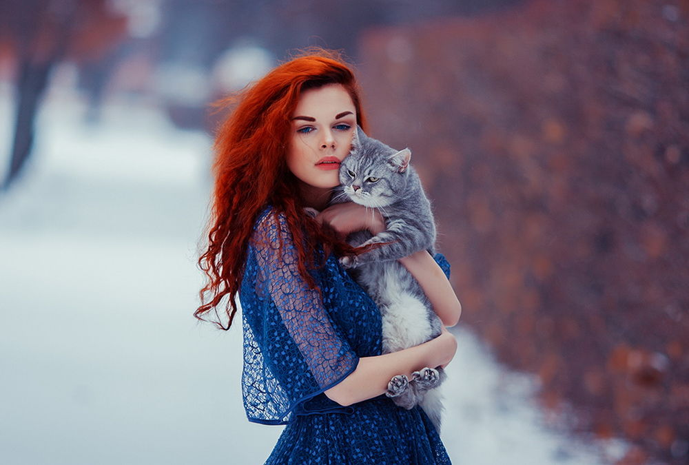 Девушки с яркими рыжими волосами фото фото 385-567