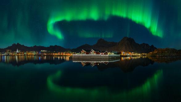 Обои Работа The Kingdom of the Northern Lights / королевство северного сияния, фотограф Pawel Kucharski