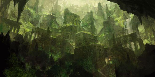 Обои Древний заброшенный город