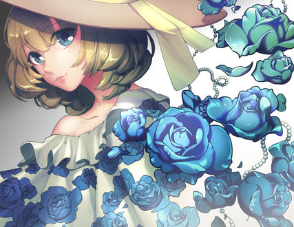 Обои Kaede Takagaki / Каэдэ Такагаки из аниме The iDOLM@STER Cinderella Girls / Идолмастер: Девушки-золушки