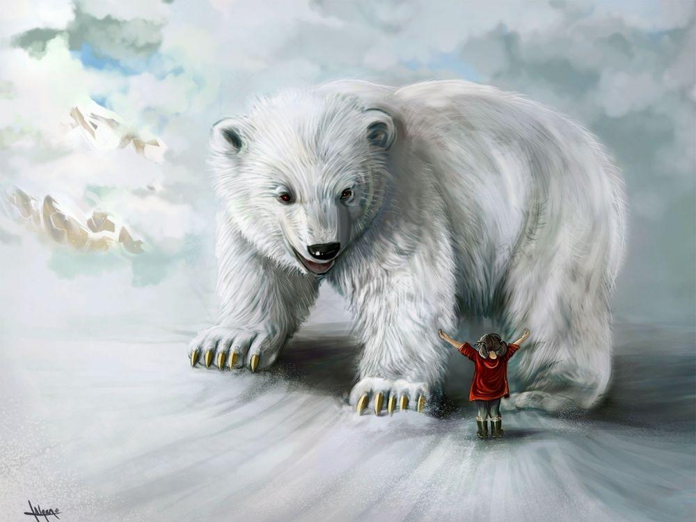 непродолжительное белый медведь арты садовый дачный дизайн