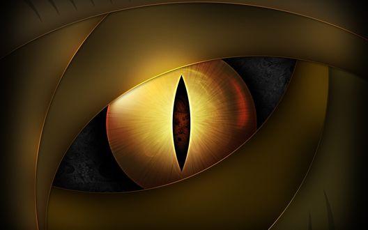 Обои Глаз неведомого существа