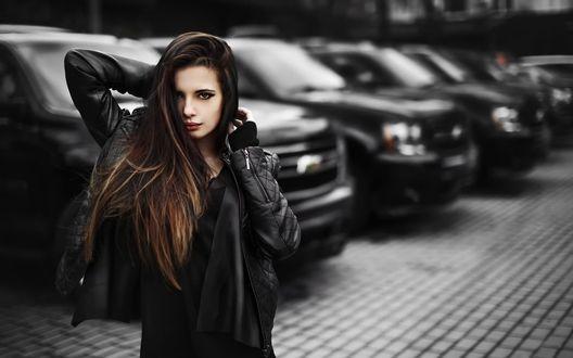 Девки в черной одежде фото 93-107