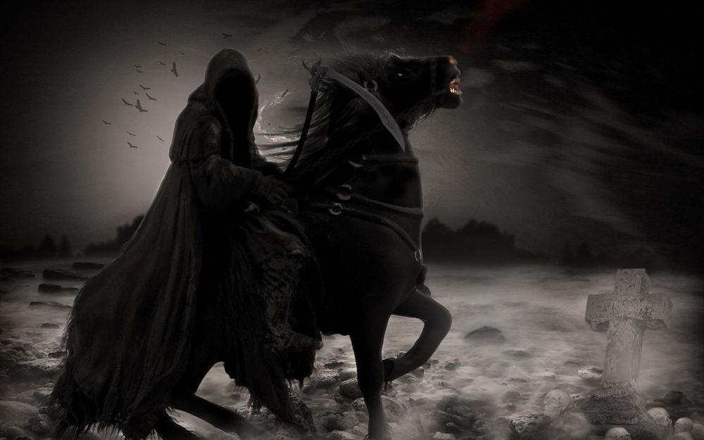 Смерть с косой прикольные картинки 4