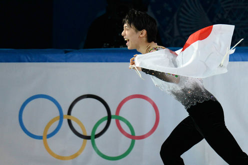 Обои Yuzuru Hanyu / Юдзуру Ханью олимпийский чемпион в Сочи