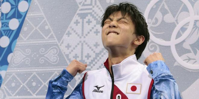 Обои Yuzuru Hanyu / Юдзуру Ханью олимпийский чемпион в Сочи, золотая медаль