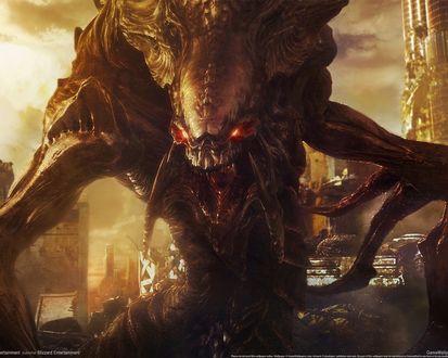 Обои Гидралиск из игры StarCraft