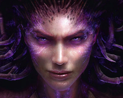 Обои Королева Клинков из игры StarCraft