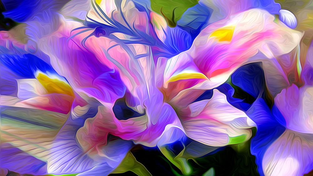 Цветок ириса картинка 5