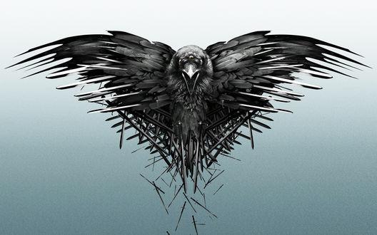 Обои Трехглазый ворон из сериала Game of Thrones / Игра престолов