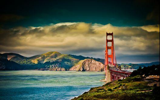 Обои Мост в Сан -Франциско, США