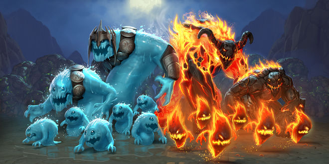 Обои Персонажи компьютерной игры Orcs Must Die! 2 - Fire & Water