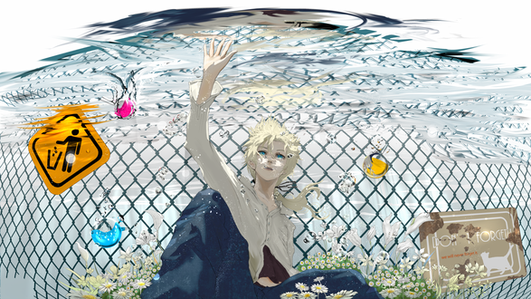 Обои Вокалоид Лен Кагамине / Vocaloid Len Kagamine