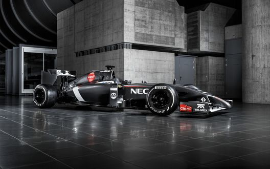 Обои Гоночный болид F1 команды Заубер