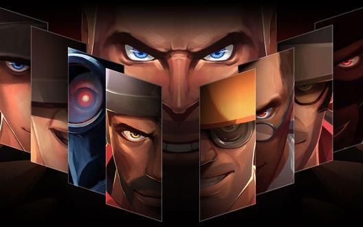 Обои Персонаж игры Team Fortress 2