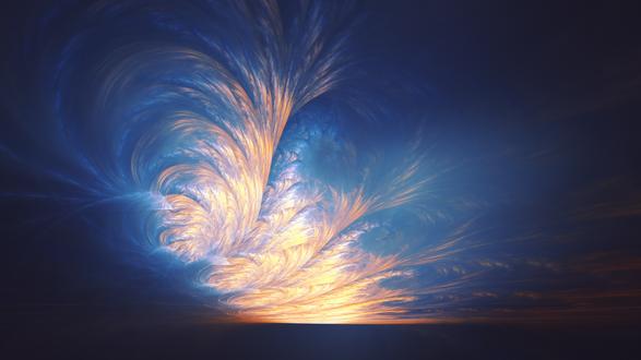 Обои Абстракция на небе, by BoxTail on DeviantArt