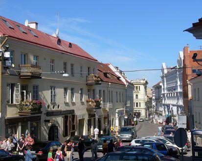 Обои Старые улицы Вильнюса